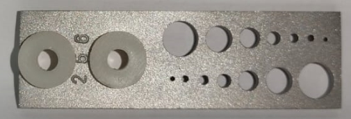 3″ Scale Corrosion Coupon